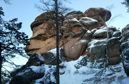 "City break ""Krasnoyarsk, the natural reserve Stolby"" + bonus: ""WWII history in Siberia """
